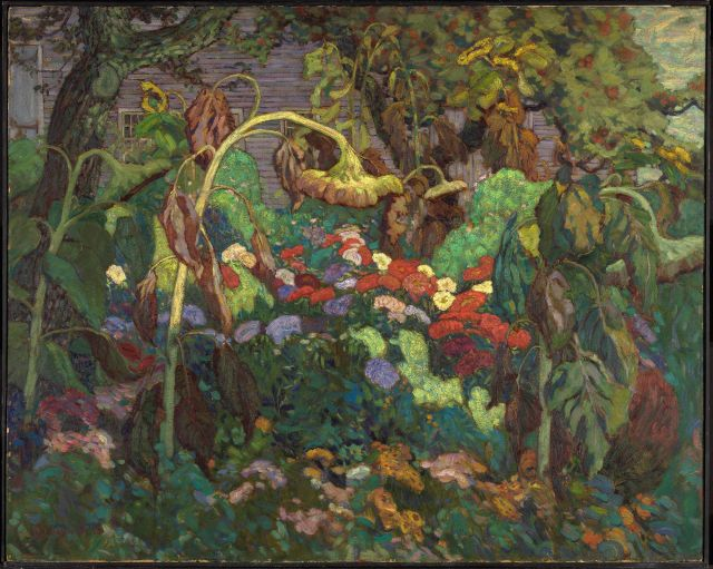 The Tangled Garden, JEH MacDonald, National Gallery of Canada