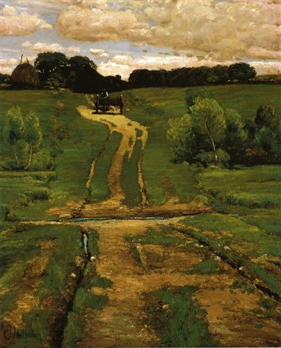A BackRoad, Childe Hassam